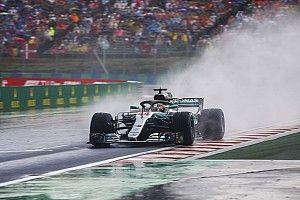 """Hamilton: """"El cielo se abrió e hizo justa la batalla con Ferrari"""""""
