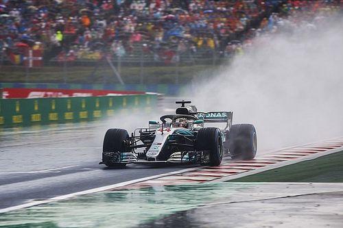 Regen rettet Mercedes: War es wirklich der Hamilton-Faktor?
