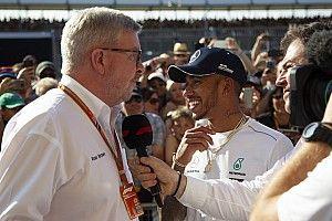"""Brawn: """"Hamilton kan tien wereldtitels behalen"""""""