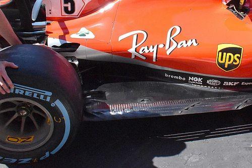 A Ferrari kipakolta a maga csomagját Silverstone-ban