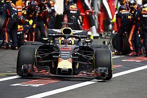 Análisis: cómo Ricciardo fue perdiendo el podio en Francia
