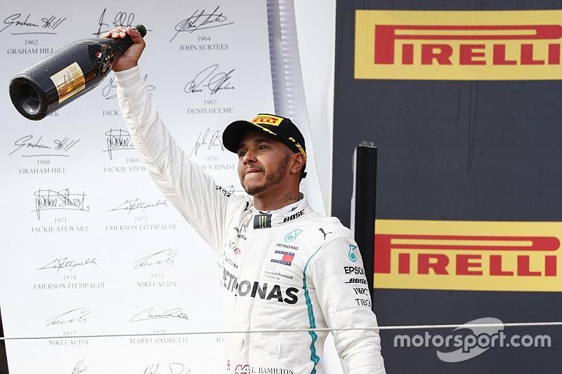 Lewis Hamilton est votre pilote de l'année 2018 !