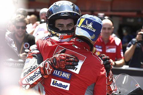 """A Ducati """"végig tudta"""", hogy Lorenzo előbb-utóbb a győzelem útjára lép"""