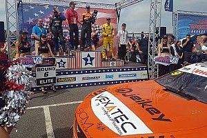 Promoted: Ercoli wins NASCAR GP UK after testing VEXATEC agility shirt