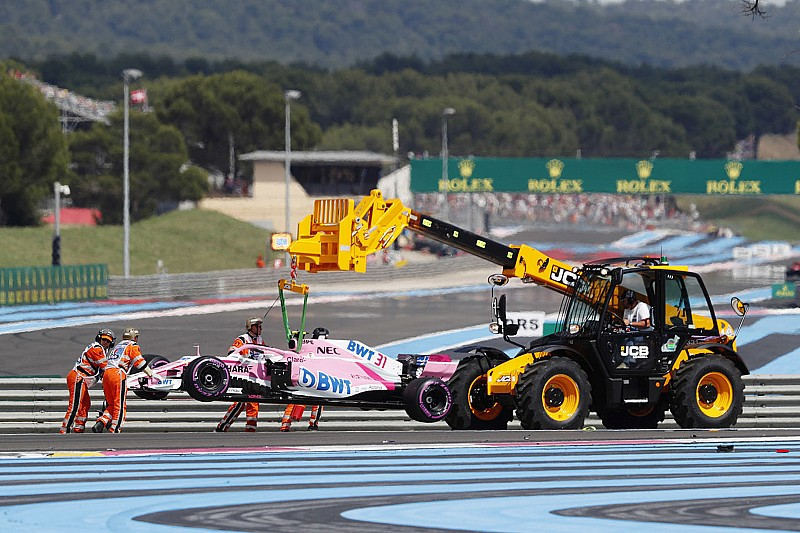 Окон и Гасли получили предупреждения за аварию во французской гонке