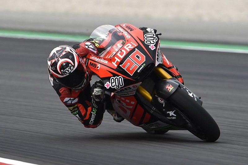 Debut triunfal mundialista de Quartararo en Moto2