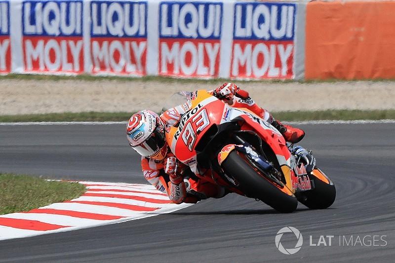 Márquez pas inquiet après sa chute de vendredi