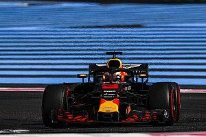ريكاردو قاد بسيارة متضررة في سباق فرنسا