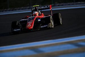 GP3 Testing report Hubert leads Ilott on second day of Paul Ricard testing