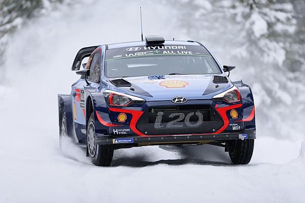 WRC Yarış ayak raporu İsveç Rallisi: Shakedown etabında Neuville lider