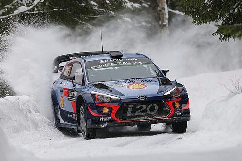 Rally di Svezia: tripletta Hyundai nella Tappa 1. Comanda Neuville!