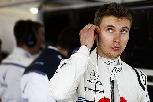Sirotkin prefiere pensar en lo positivo de cederle su auto a Kubica