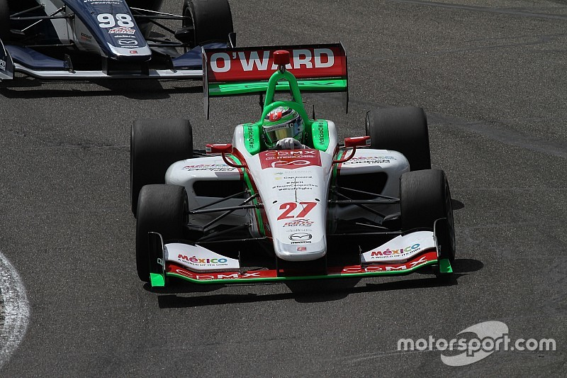 Portland Indy Lights: O'Ward beats Herta, wins championship