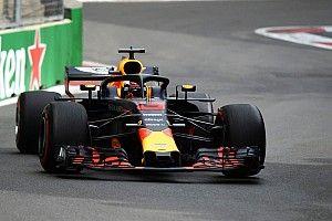 Ricciardo touche le mur mais s'offre la deuxième ligne