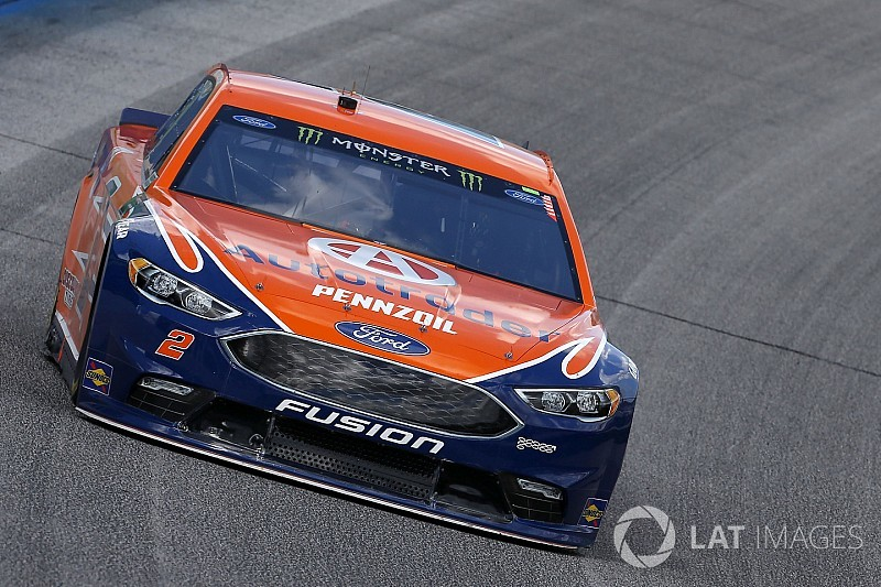 Brad Keselowski takes Stage 2 win at Atlanta