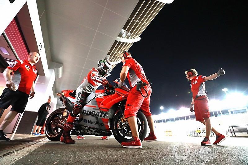 Ducati tratará de aprovechar la estabilidad de su frenada en Qatar