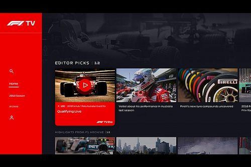 La liste des pays qui bénéficieront de F1 TV Pro a été dévoilée
