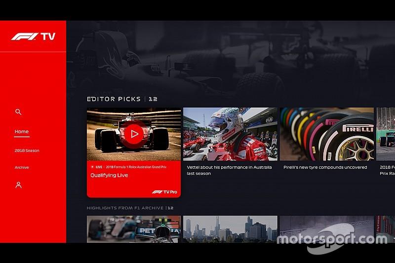 Az F1 TV csalódást keltően debütált
