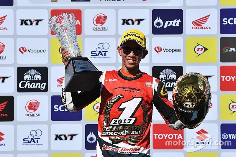 Gerry Salim balapan Red Bull MotoGP Rookies Cup?