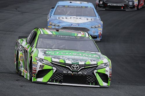 "Kyle Busch on Harvick contact: ""How you race is how you get raced"""