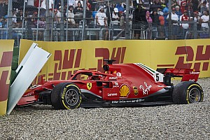 Ma 1 éve, hogy Vettel az élről falnak vágta a Ferrarit a Német Nagydíjon