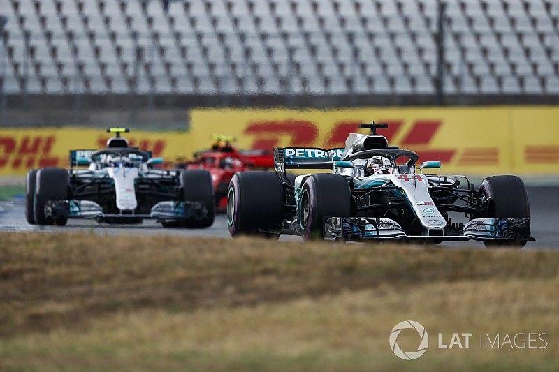 Mercedes: ordens também seriam dadas com Bottas na ponta