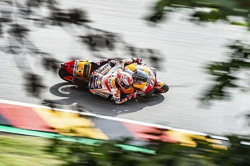 Márquez admite que tuvo suerte de que las Yamaha no tuvieran el ritmo