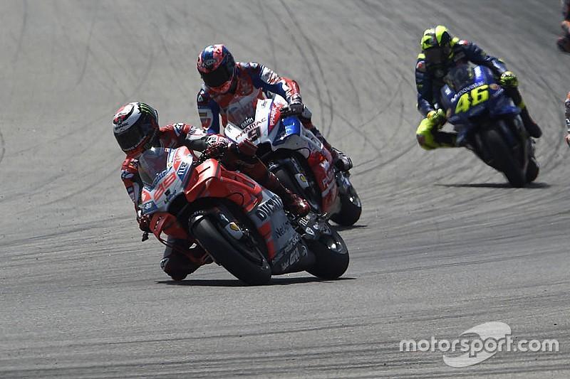 """Petrucci: """"A Lorenzo no le importamos los demás pilotos cuando está en la pista"""""""