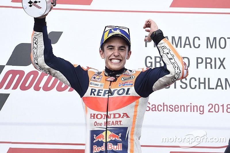 Márquez hace buena a la Honda