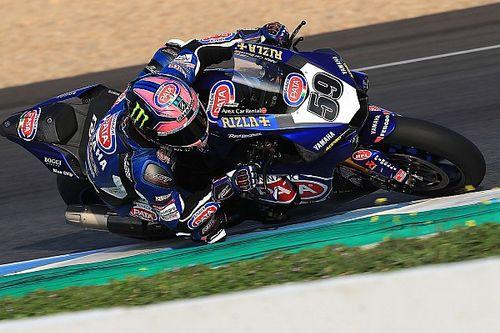 Niccolò Canepa a Donington con la terza Yamaha R1 ufficiale