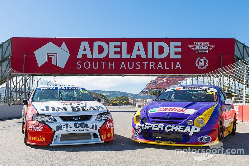 Iconic Supercars demo set for Adelaide anniversary