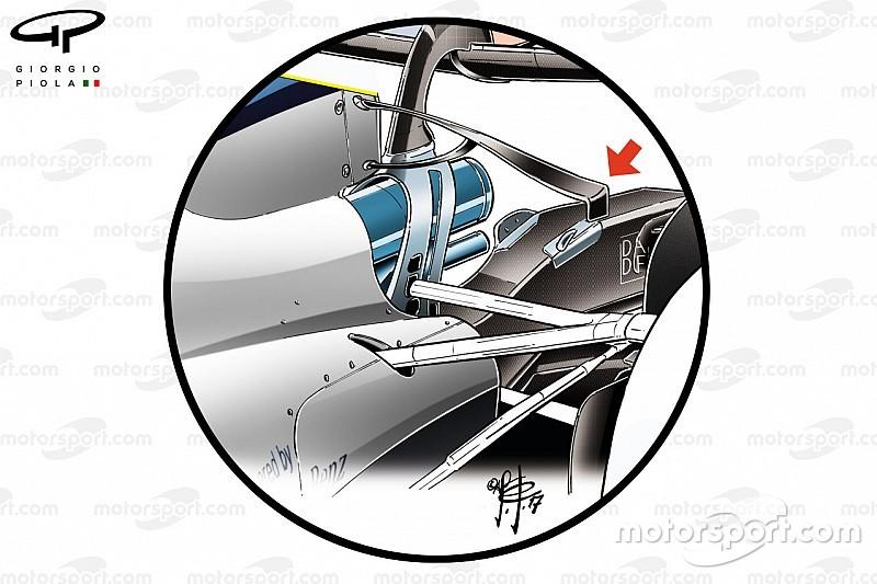 Analisis teknis: Sayap-T masih bisa kembali pada mobil F1 2018