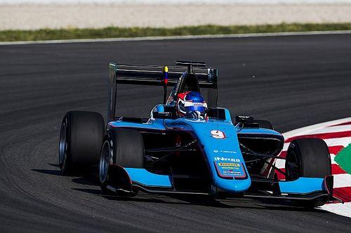 Pulcini con la primera pole de GP3, Calderón y Menchaca en 14 y 16