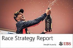 Report strategie: ecco perché i rivali di Ricciardo hanno giocato sul sicuro