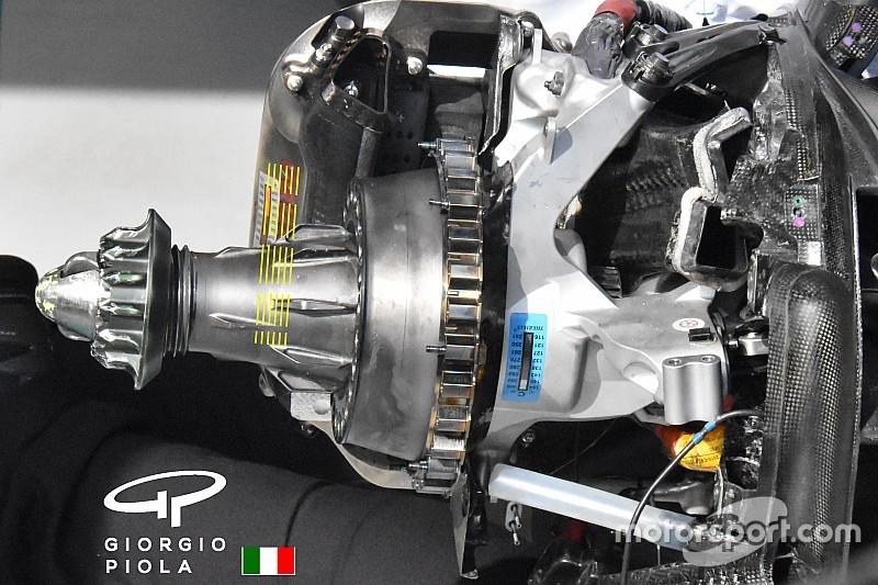 La Brembo a Monaco aveva portato la pinza dei freni con il micro-radiatore!