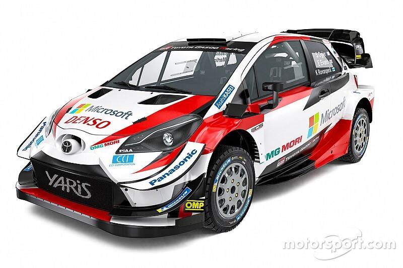 Toyota trabajó en un refinamiento de su Yaris WRC