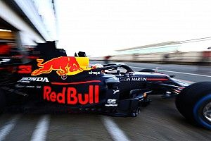 Video: Verstappen shakes down new Red Bull RB16