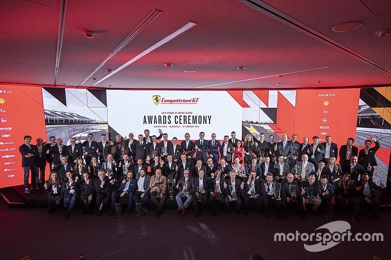 Ferrari, la festa dei campioni 2019 GT Competizione