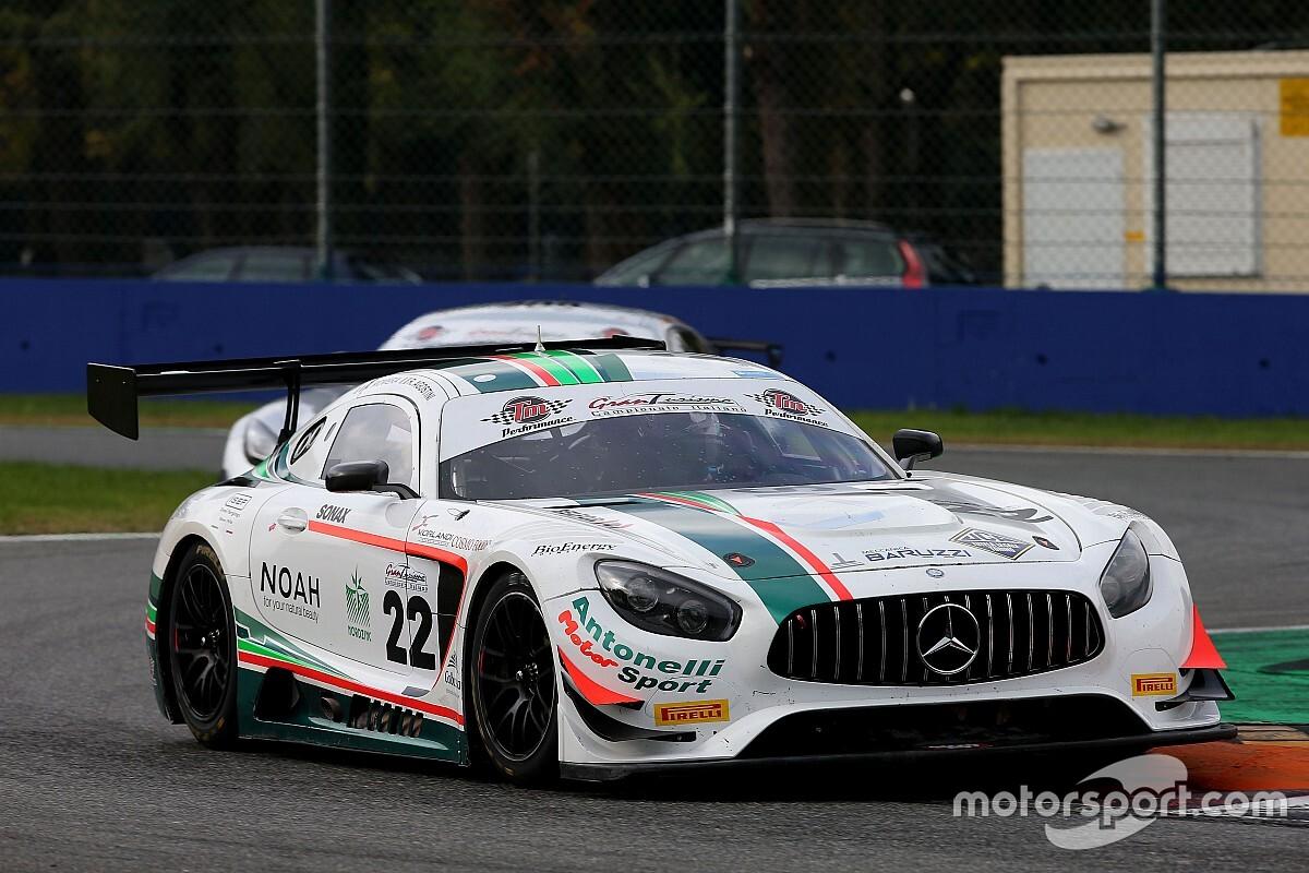 GT Italiano: De Luca prova la Mercedes di Antonelli