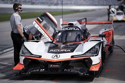 Daytona 24 Saat 2. antrenman: #7 Acura lider