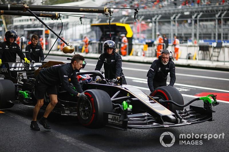 A Haasnál nem értik, mi történt, már a szezon végét várják