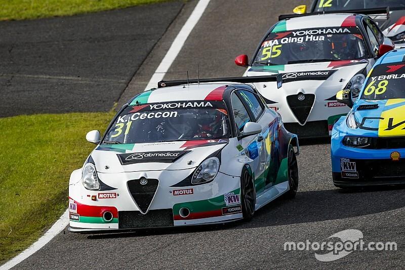 Ceccon penalizzato, Alfa Romeo giù dal podio del WTCR a Suzuka