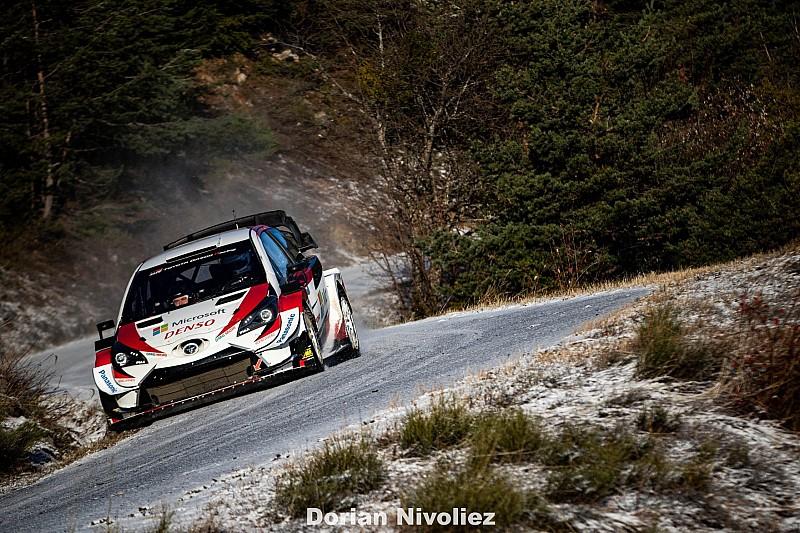 Cztery Yarisy WRC w Rajdzie Monte-Carlo?