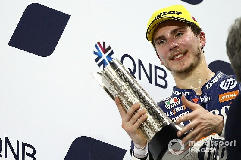 Baldassarri est passé de l'entraînement de Rossi à celui de Dovizioso