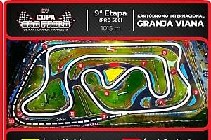 'Coringa' estreia em campeonato paulista de kart