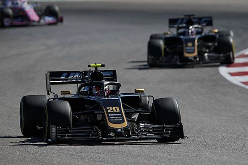 "Magnussen's brake disc ""exploded"" during US GP"
