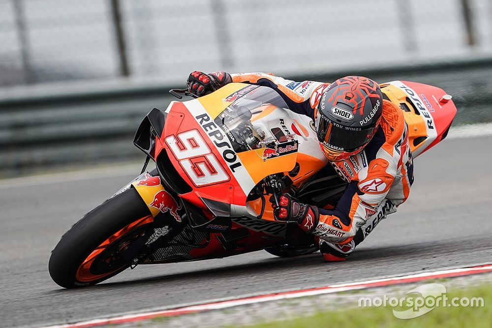 """Marquez """"more worried"""" by bike than by fitness"""