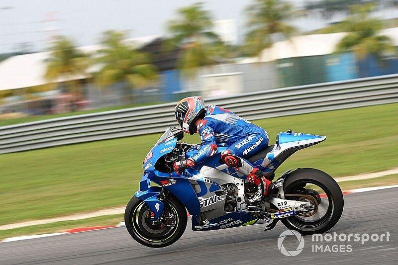 Suzuki ultima su 'holeshot' para estrenarlo en Qatar