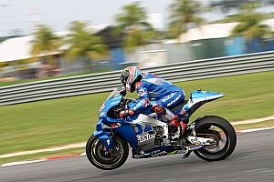 """Suzuki prépare son """"holeshot device"""" pour le Qatar"""