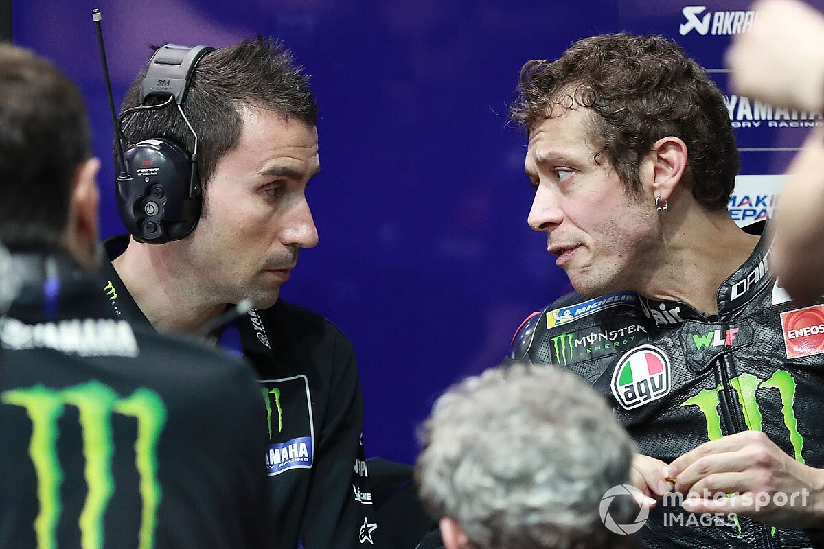 "Rossi has ""more potential"" than 2019 with new crew chief"